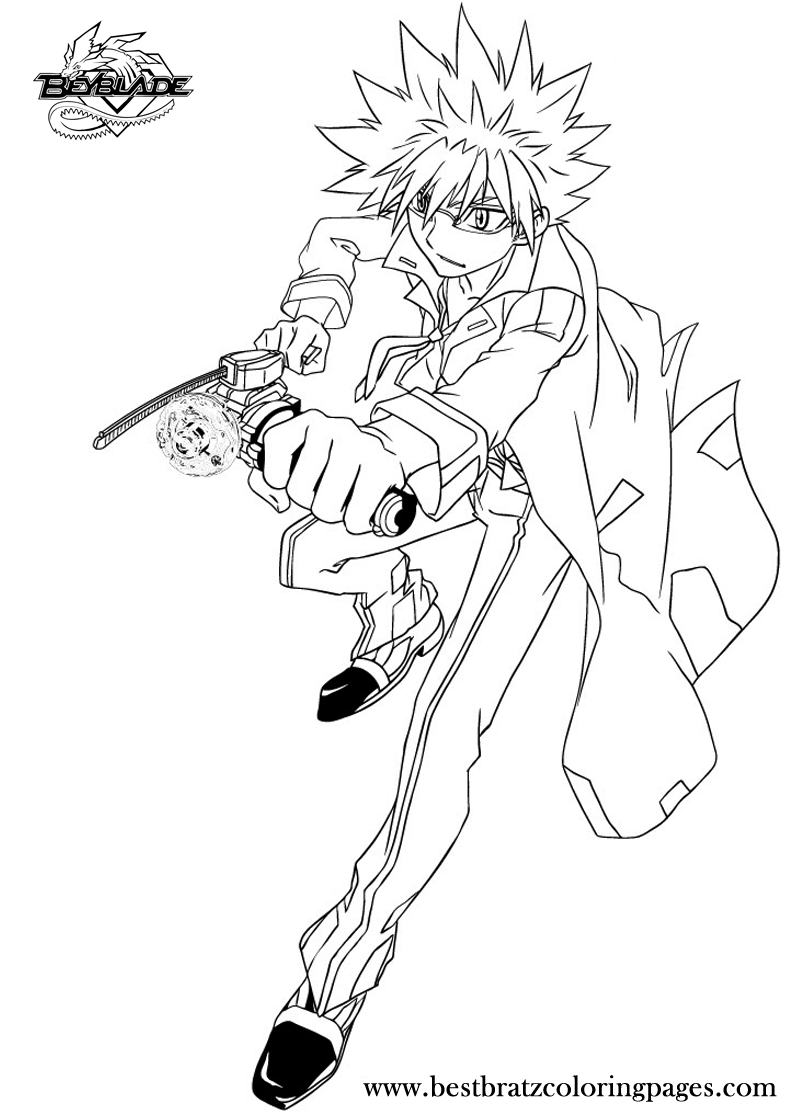 beyblade coloring pages zyro beyblade anime coloring pages for