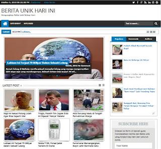 Download dan Panduan Template Responsive untuk Blog Berita