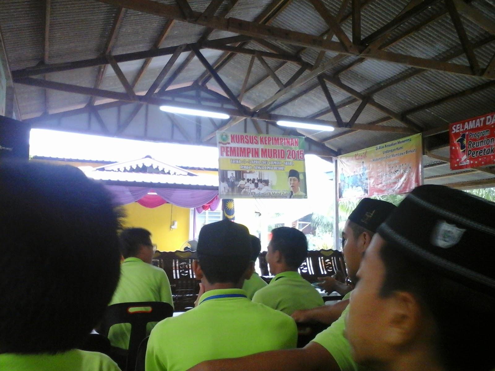 Kem Kepimpinan Murid 2015 Di Sg Limau Resort