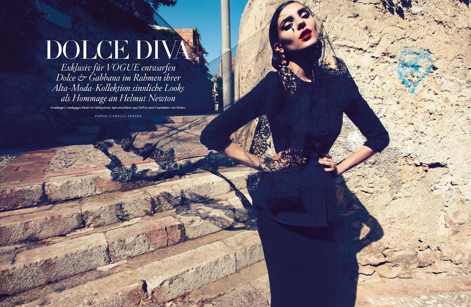 Swift Unicorn: Kati Nescher for Vogue Deutschland October 2012 ...
