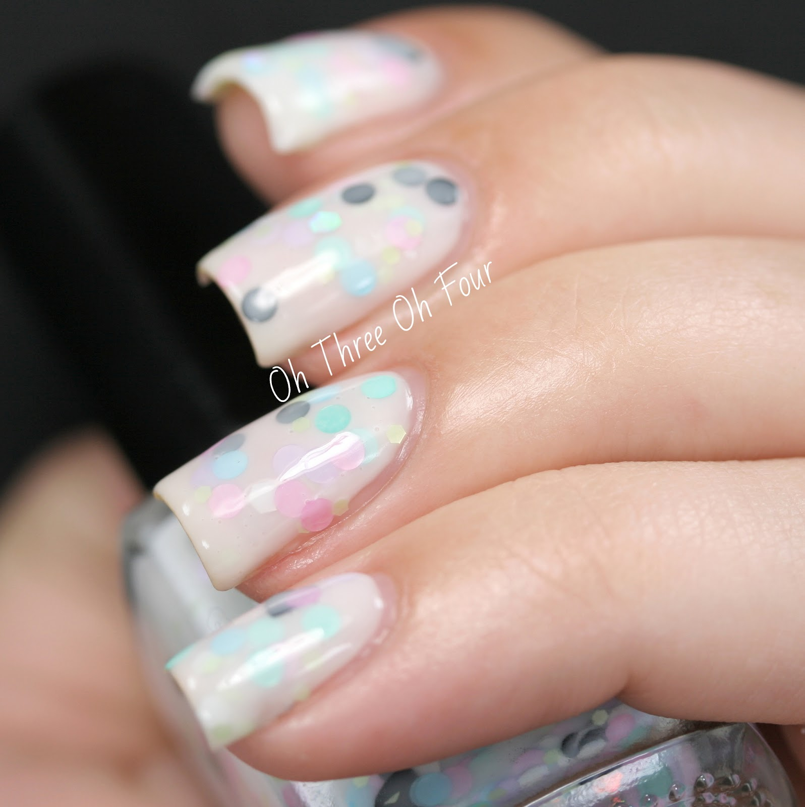 Rain City Lacquer Milk & Macarons Swatch