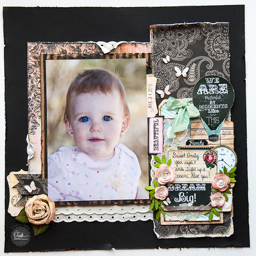 Hybrid Layout created by Tonya A. Gibbs  from scraps of the Nirvana Line by Marion Smith Designs and the Digital line #Scarlet by #marionsmithdesigns #nirvana #tag #art #papercraft #scrapbook #TonyaGibbs #Psychomoms