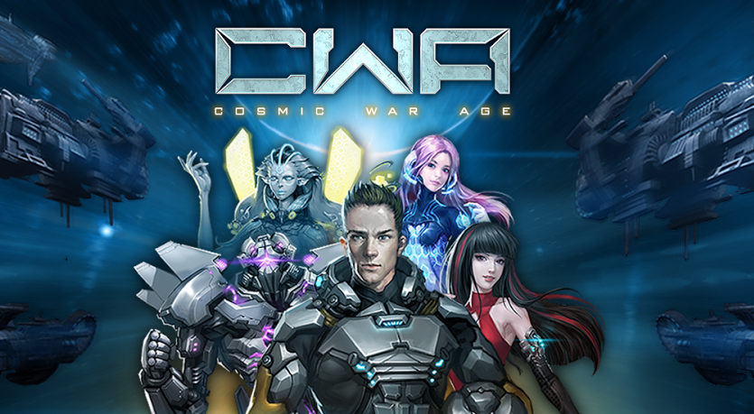 Cosmic War Age Gameplay IOS / Android