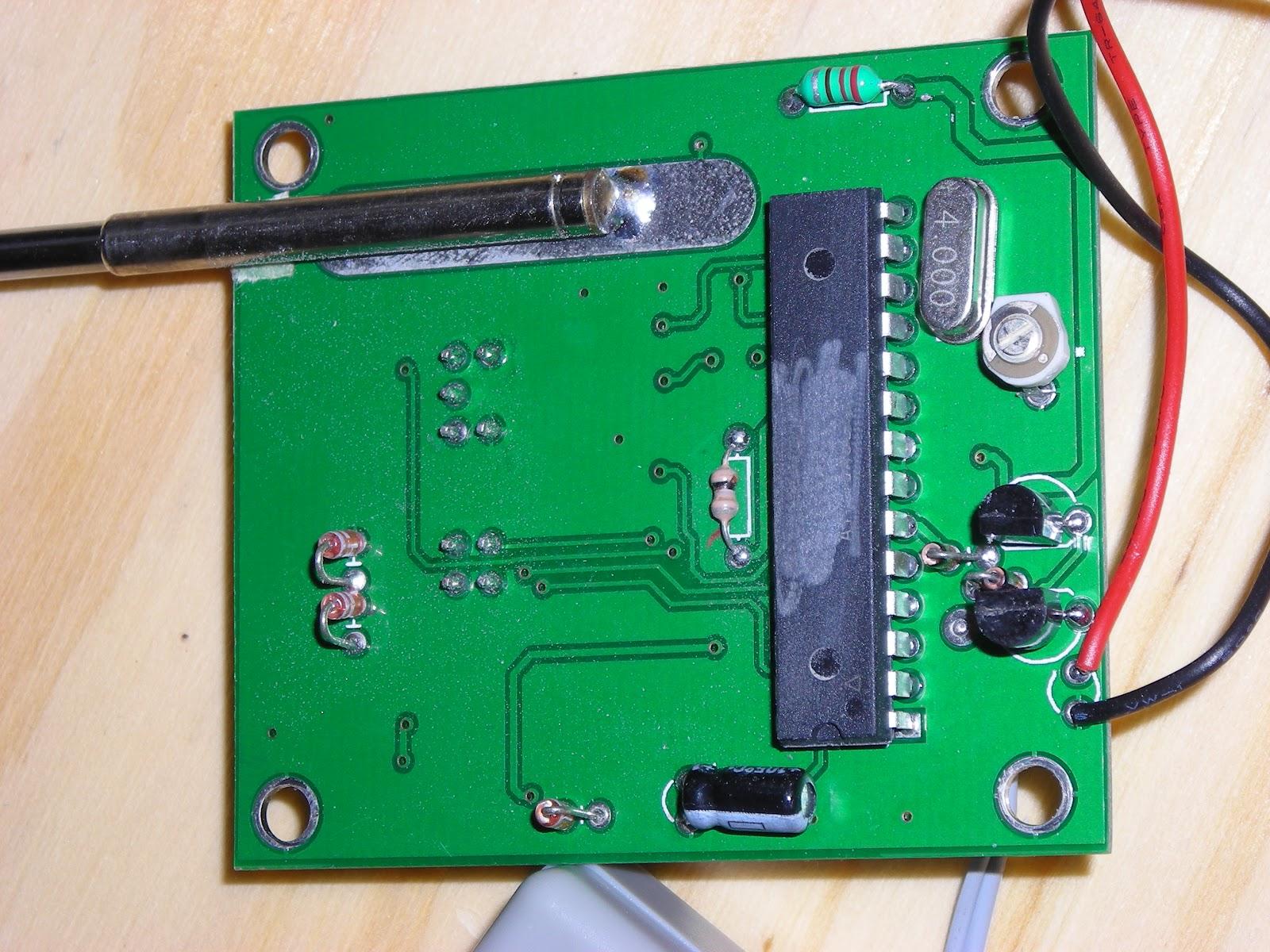 Ham Radio Frequency Counter : M kta s qrp ham radio gy frequency counter
