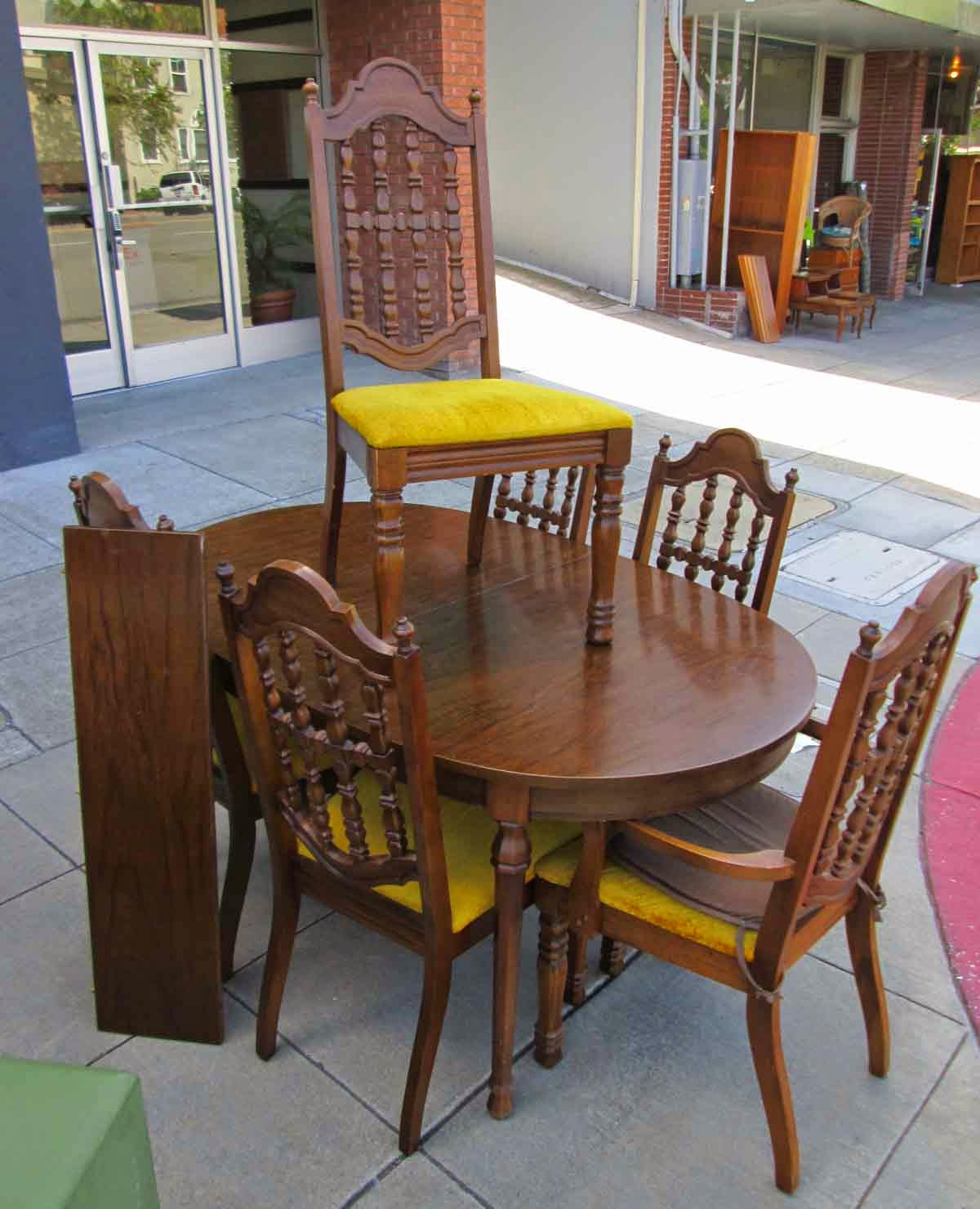UHURU FURNITURE & COLLECTIBLES: SOLD Mediterranean Dining