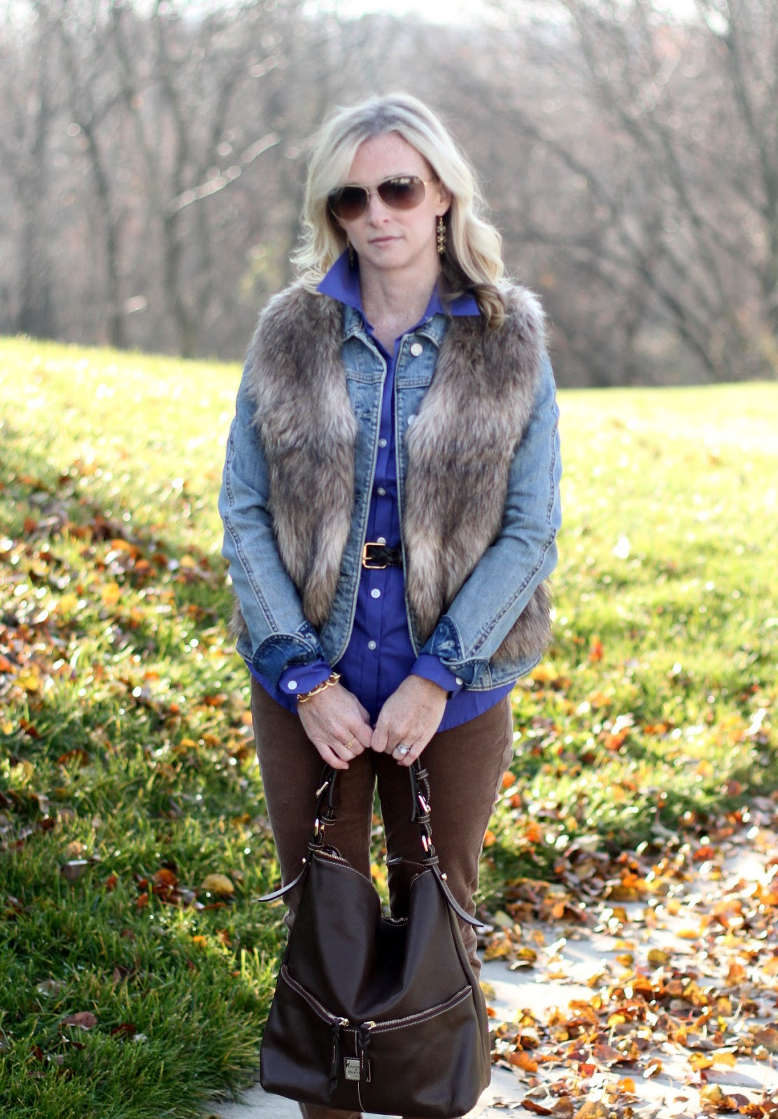 Nordstrom, fur vest, Old Navy, Michael Kors, Target, Dooney & Bourke, Ray-Ban