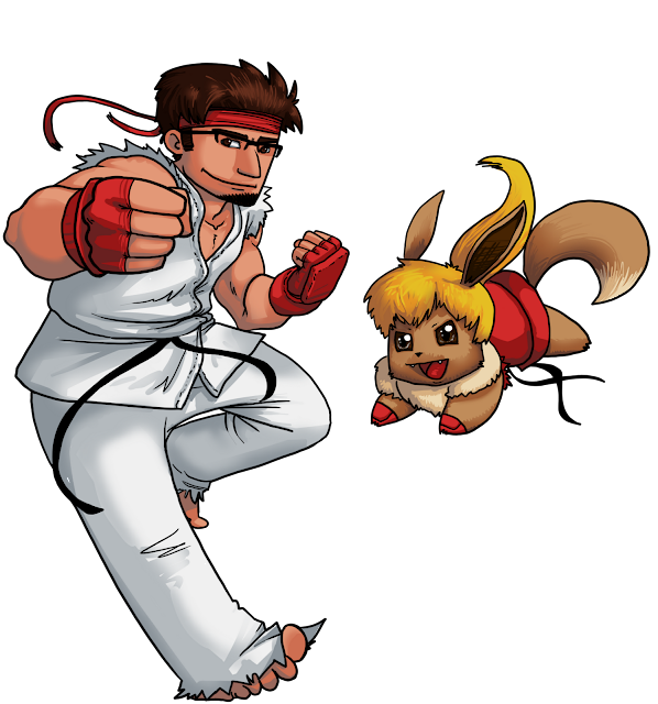 Street Fighter Pokemon Crossover