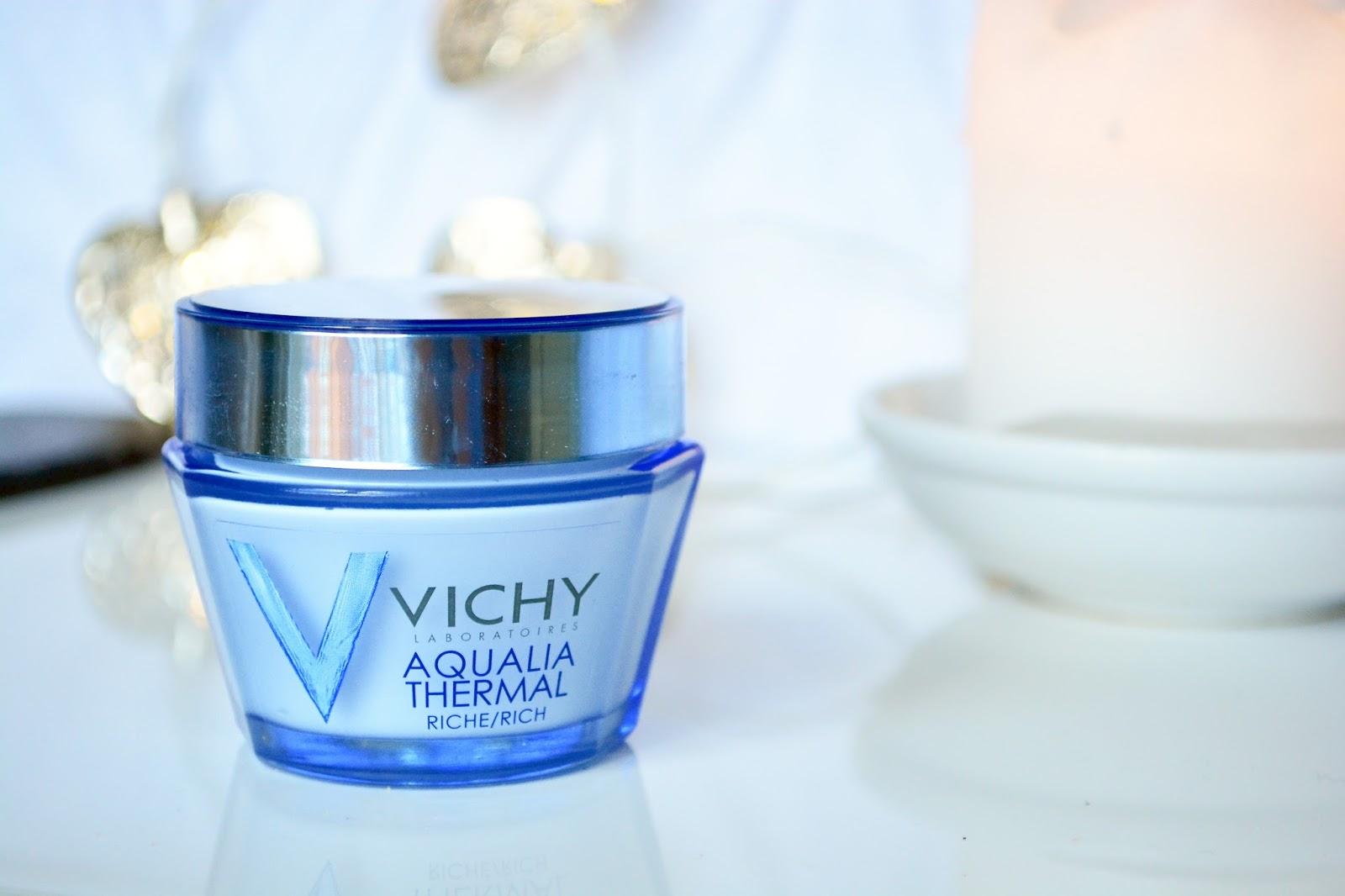 Vichy Aqualia Thermal Rich Cream, Moisturiser, Dry Skin, Hydrated Skin
