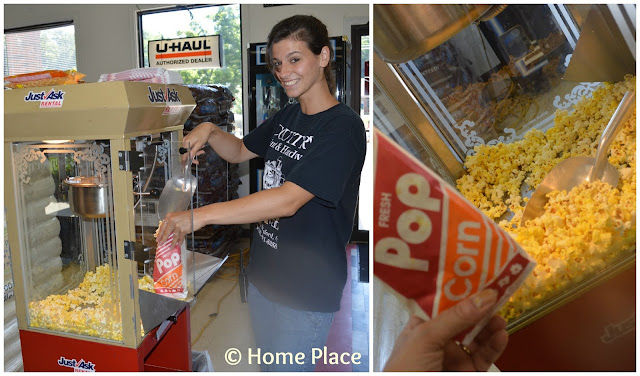 Popcorn at Country Paint and Hardware, North Branford CT