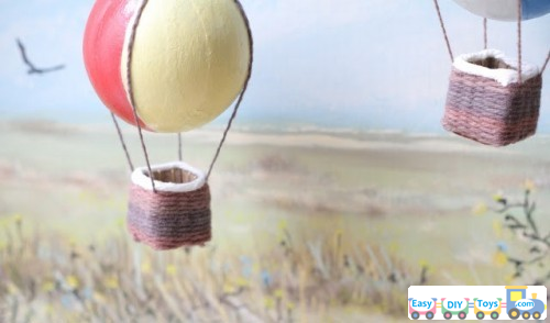 Handmade Toy Air Balloon