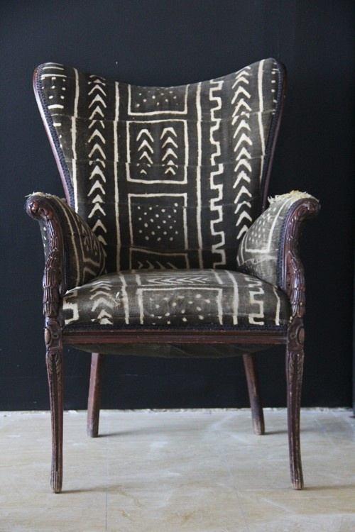 AfricaStyle African Textiles Furniture = Shockingly