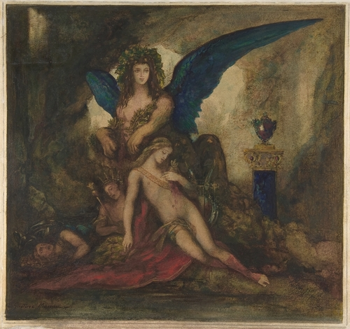 sphinx gustave moreau