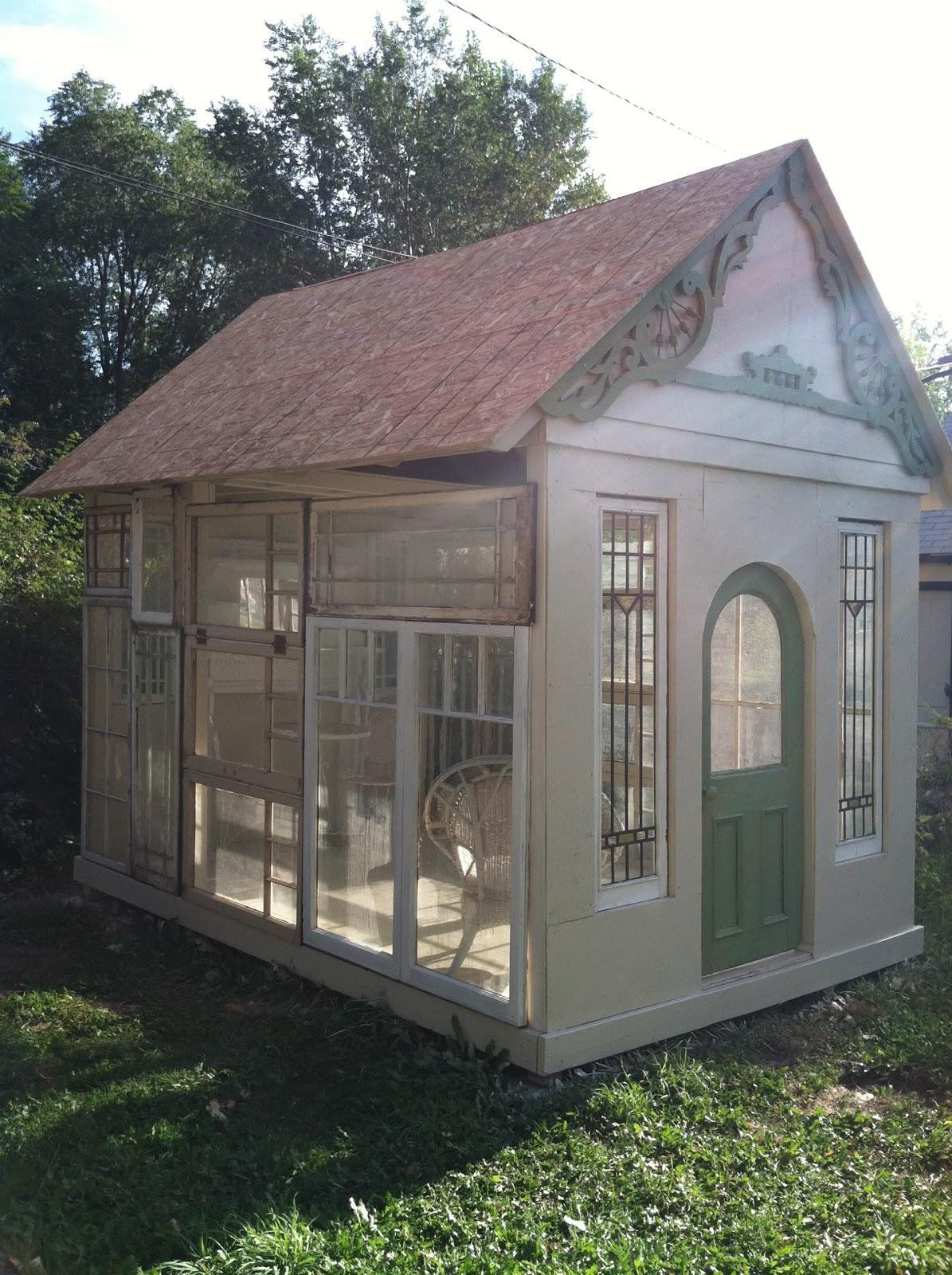 Old garden house - My Garden House Gets Window Walls