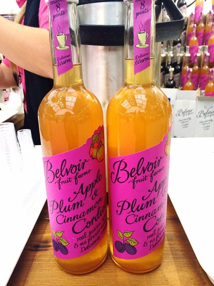 belvoir apple plum cinnamon cordial