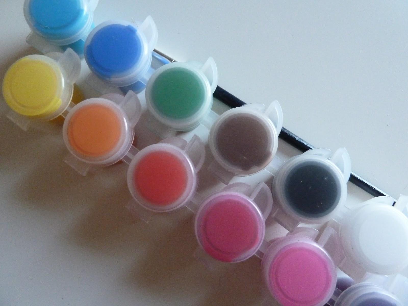 Nailsbystephanie acrylic paint as nail polish acrylic paint as nail polish prinsesfo Choice Image