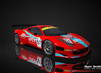 Ferrari 458 Italia FIA GT3 rFactor