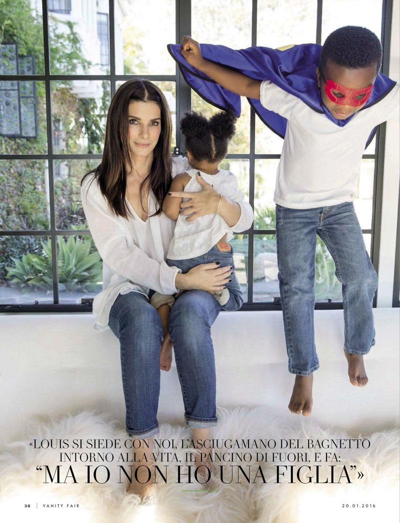 Arts Cross Stitch: Actress, @ Sandra Bullock and Family ... Sandra Bullock Children