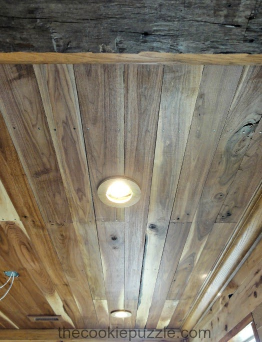 Wood Planked Ceiling