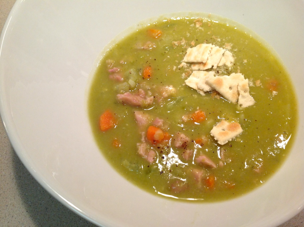 Cook In / Dine Out: Split Pea and Ham Soup
