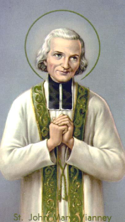 Sac. MAria Vianney - Patrono dei Sacerdoti