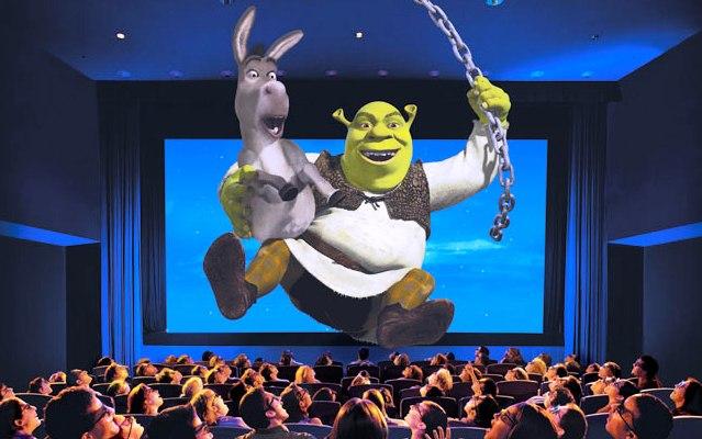 Universal Studios Orlando Shrek 4D