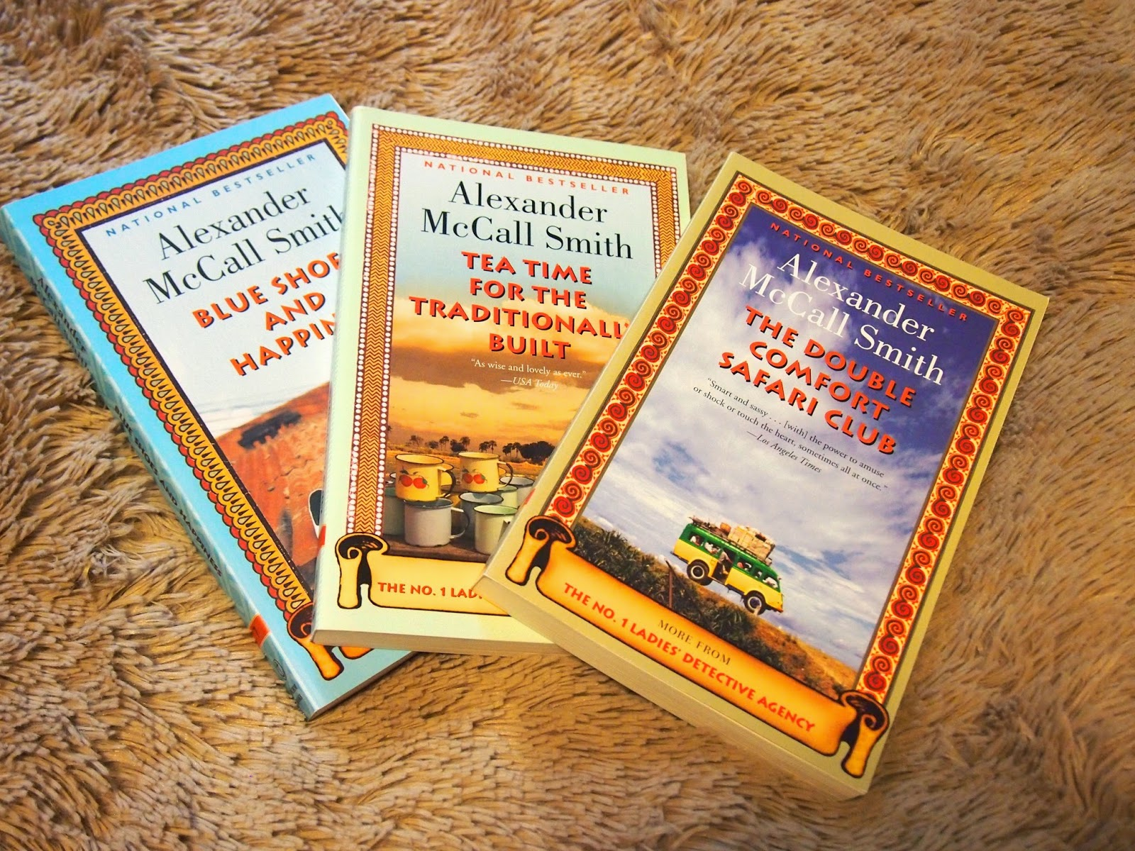 Alexander McCall Smith books