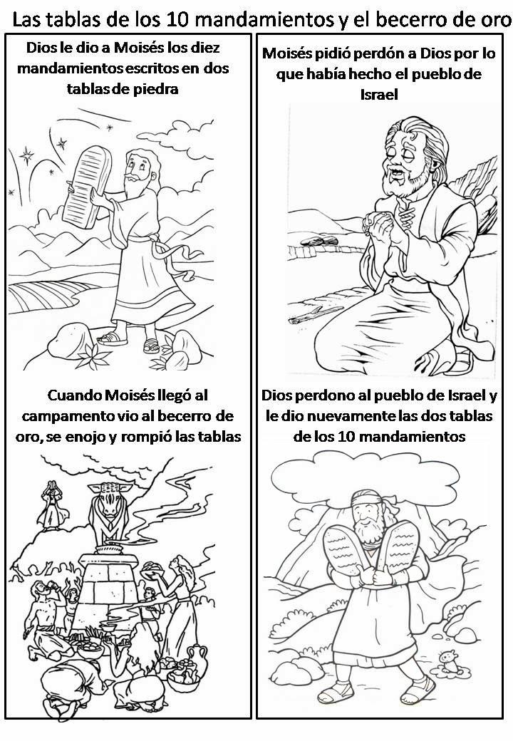 Imagenes Cristianas Para Colorear: Dibujos Para Colorear De El ...