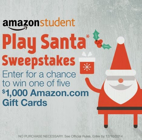 Amazon Play Santa Sweepstakes