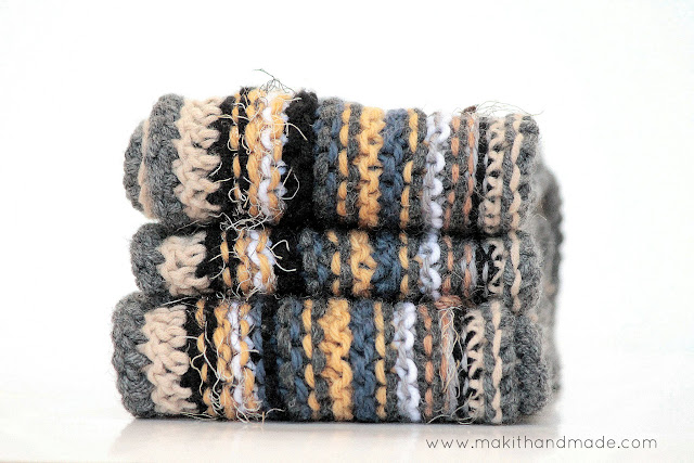 The Squishy Sentimental Scarf by Make It Handmade-- With Free Pattern!