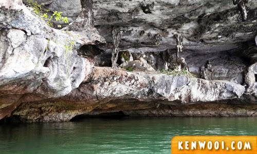john gray sea canoe cave limestone