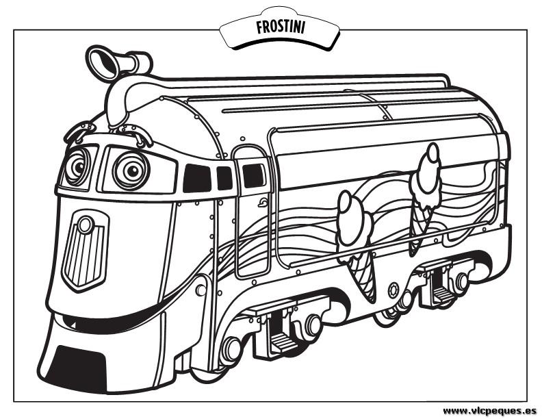 Tren chuggington colorear - Imagui