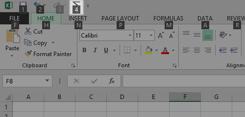 Tạo phím tắt hữu dụng cho Office 2013 6