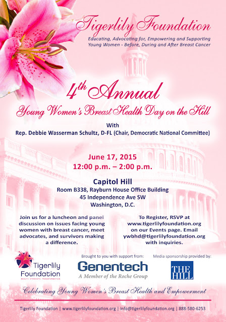 Tigerlily Foundation 4th Annual Young Women's Breast Health Day #DC