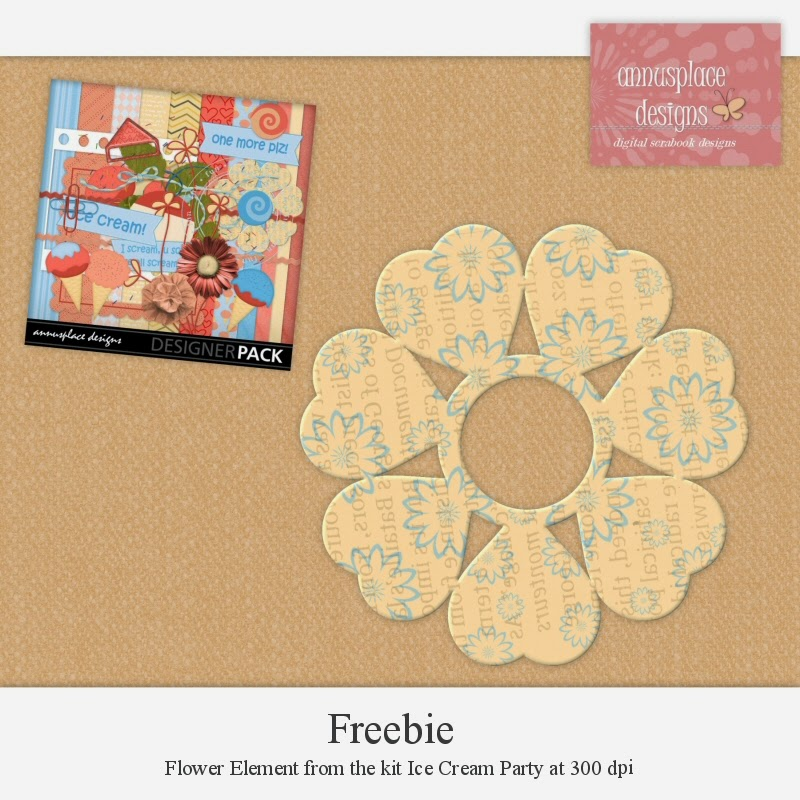 Freebie from Ice Cream Party by Annusplace Designs