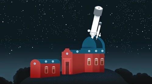 اغلب ابحاث الفلك تتم عن طريق تليسكوب في مرصد
