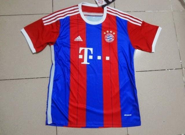 Jual Jersey Club Fc Bayern Munchen Official 2015