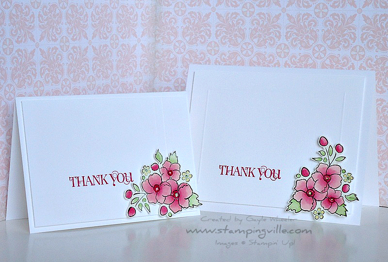 Stampin' Up! Clean & Simple Card Ideas