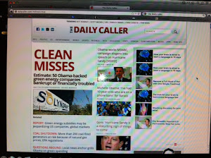 October 30, 2012: The Daily Caller cites Green Corruption