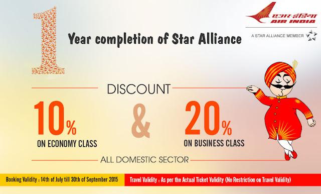 www.aksharonline.com - AirIndia Up to 20% Discount