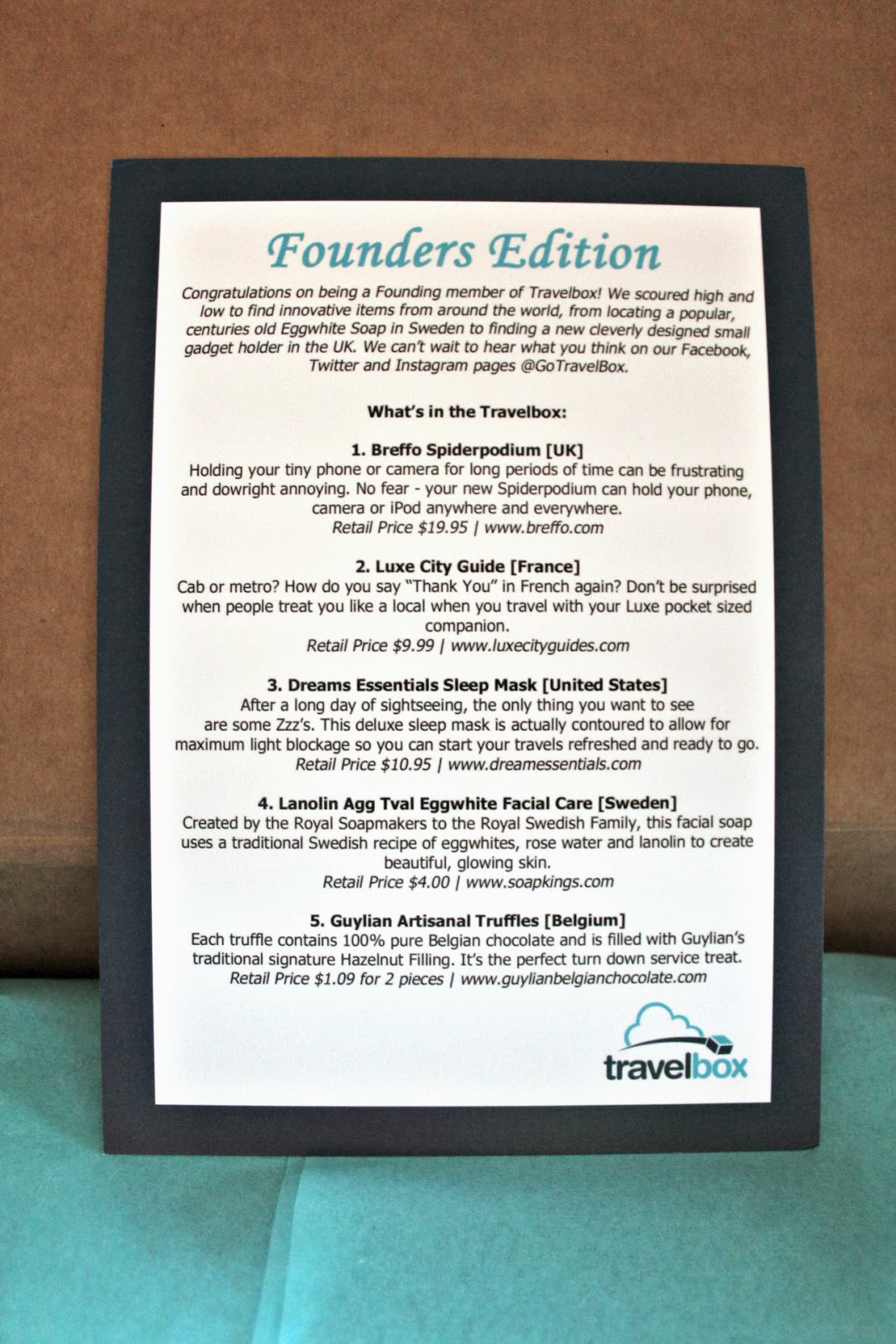 travelbox review december 2013 coupon code new subscription box