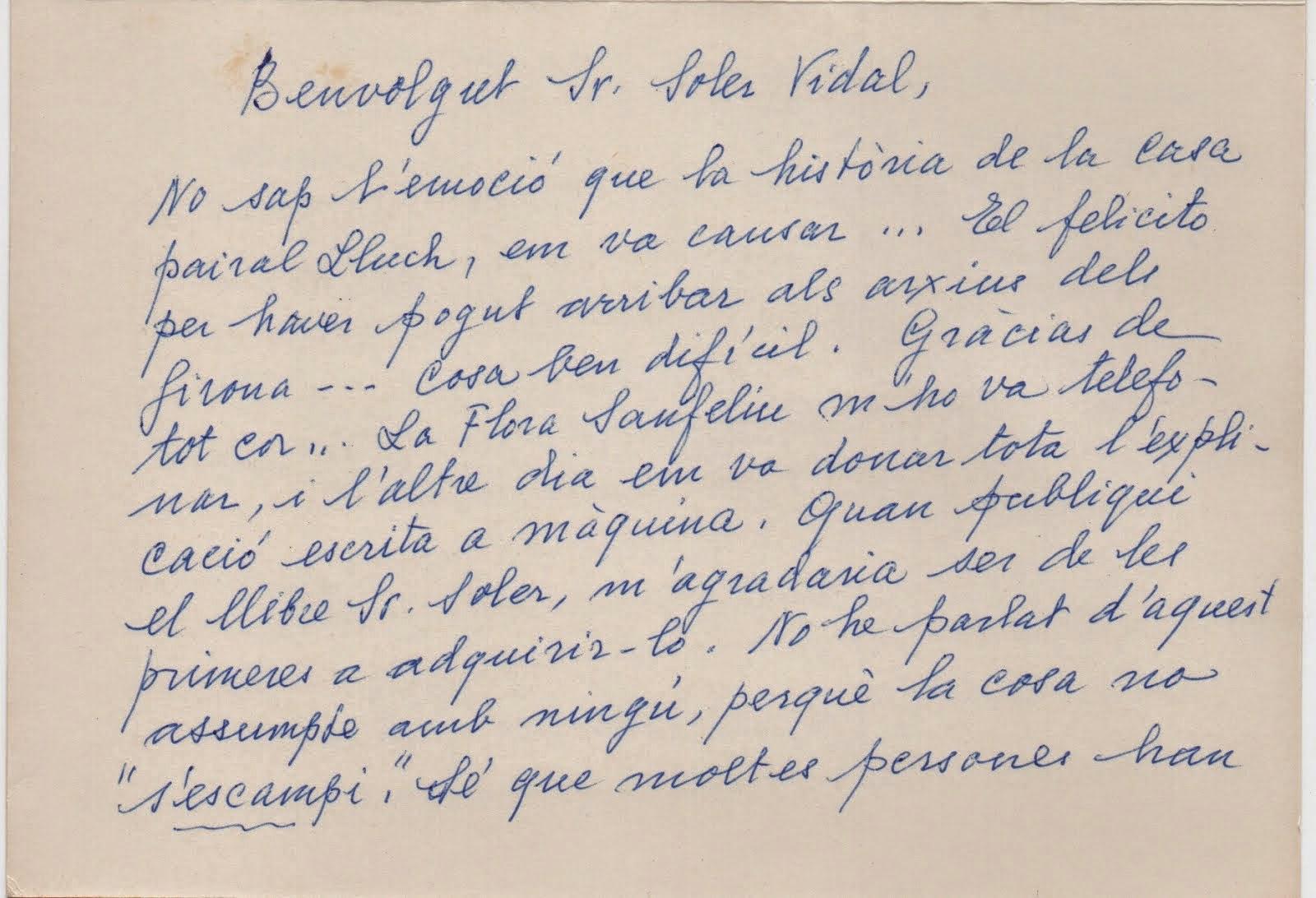 Nota de Lolita Lluch