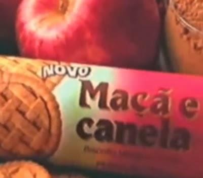 Propaganda do Biscoito de Maçã e Canela da São Luiz (Nestlé) nos anos 90.