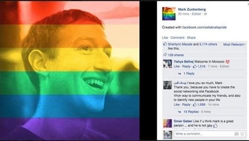 Cách tạo hiệu ứng cầu vồng lục sắc cho Avatar Facebook