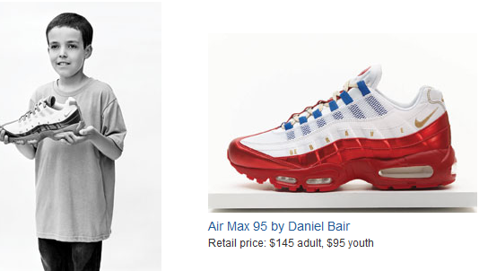 the latest 88ad3 83eb1 THE SNEAKER ADDICT: 2011 Nike Air Max 95 Doernbecher Sneaker ...