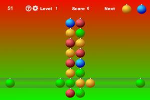Новогодние шары - игра