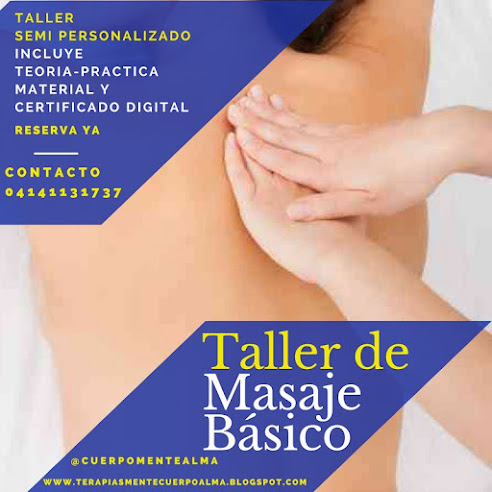 TALLER MANIPULACIONES BÁSICAS DEL MASAJE