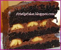 Banana Choc Moist Cakes