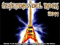 Cartel completo del festival Leyendas del Rock 2011