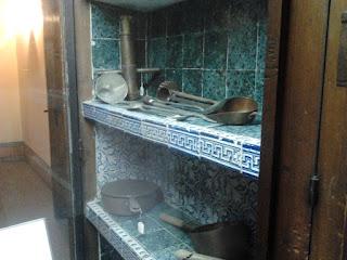 El Escorial. Utensilios de cocina