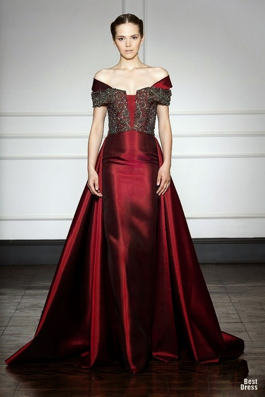 Vestidos de moda para fiestas de gala